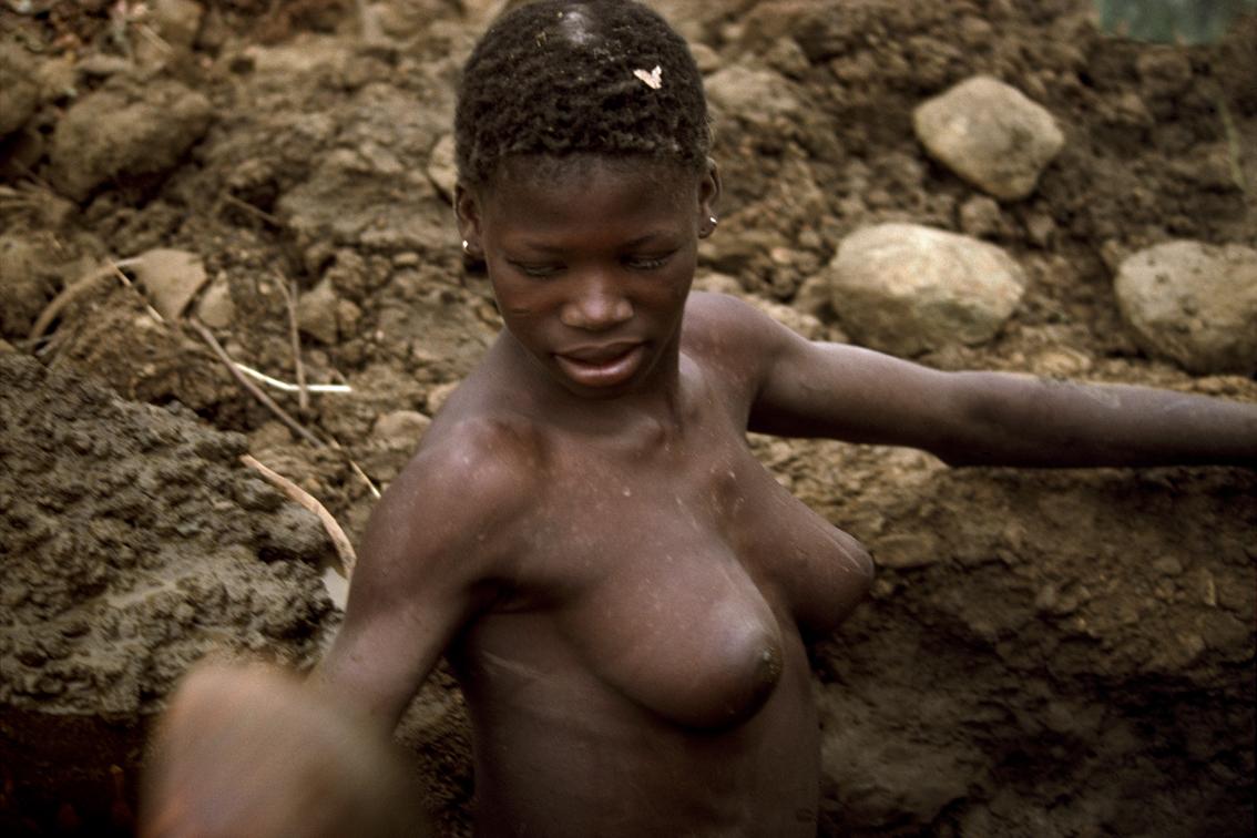 Ashanti gold mine - Ghana 1992