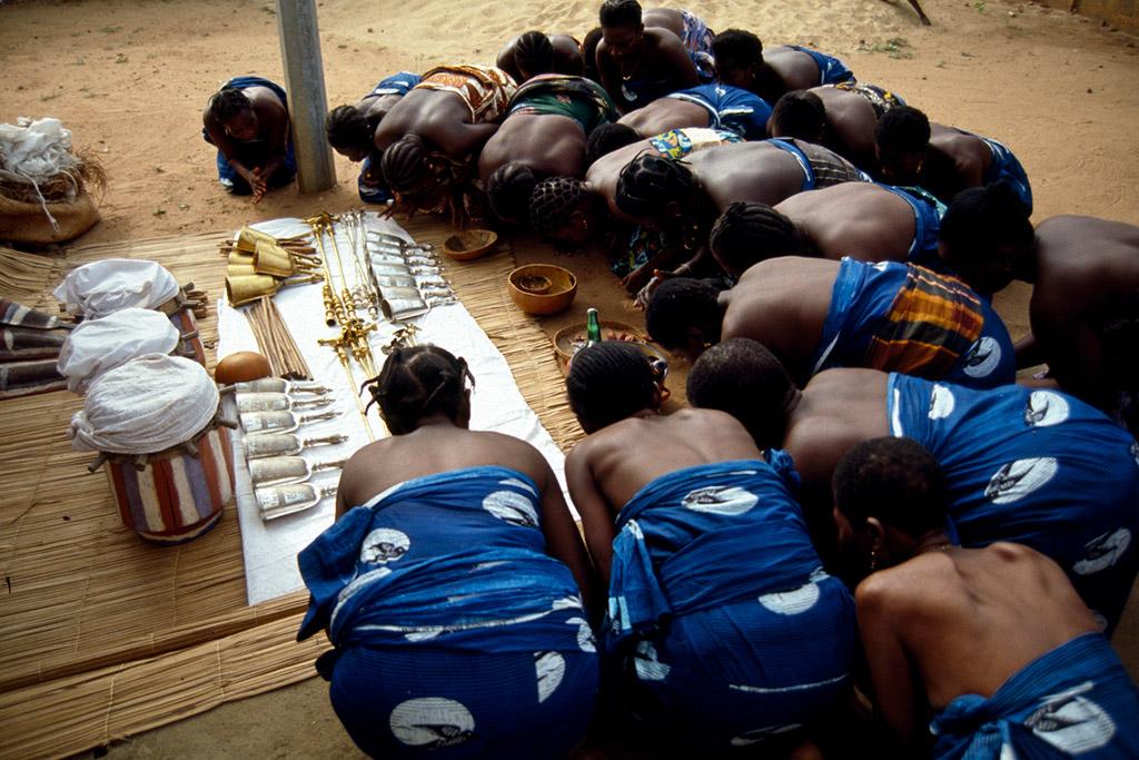 """I teatri degli dei/God's theaters"" Benin, Porto Novo 1998"