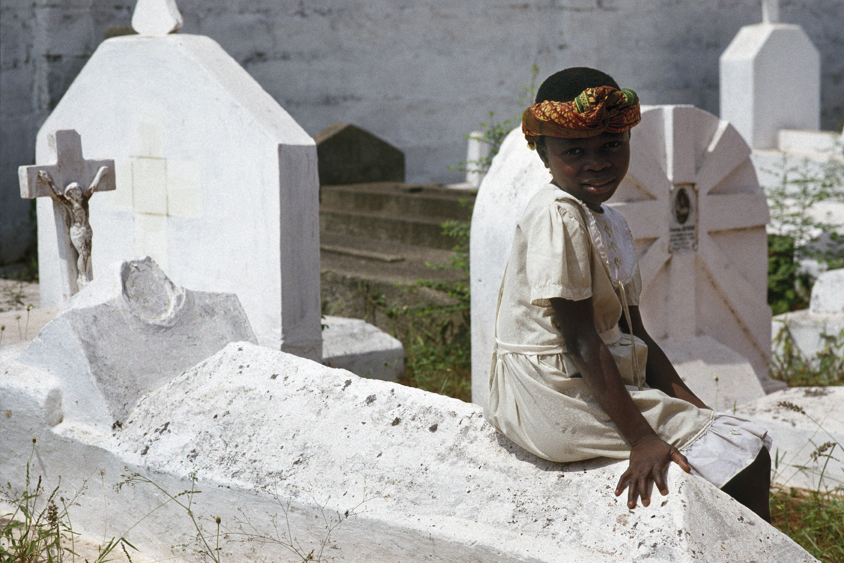 """""""Bayon"""" De Souza, Ouidah - Benin 1990"""